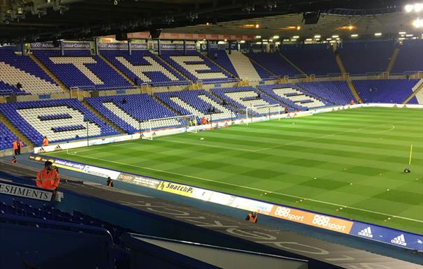 St Andrew's Stadium - Birmingham City Football Club
