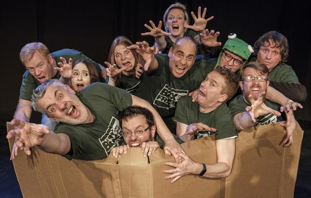 Box of Frogs Improv - Little but LIVE! 2021