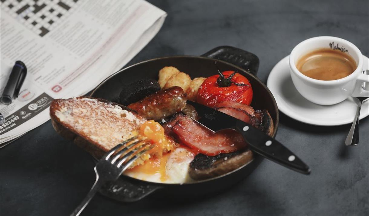 Chez Mal breakfast