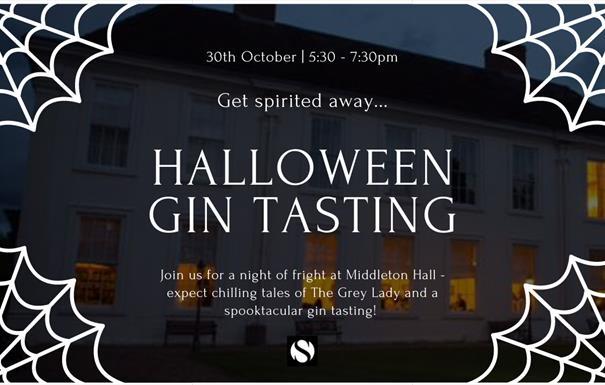 Halloween Gin Tasting