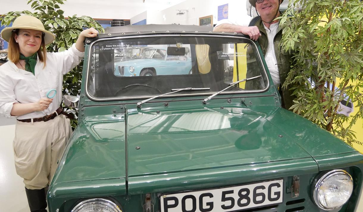 Exploring nature in the Collection this summer at the British Motor Museum
