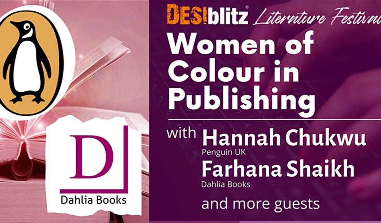 DESIblitz Literature Festival - Women of Colour in Publishing