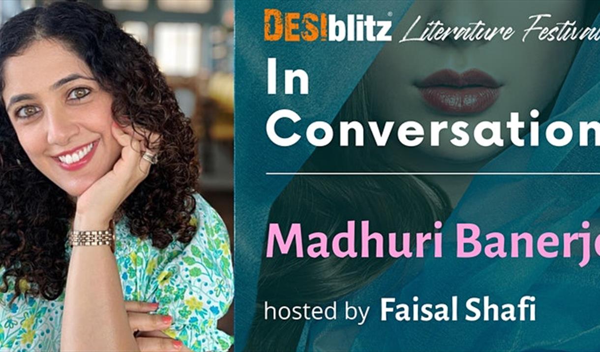 DESIblitz Literature Festival - In Conversation with Madhuri Banerjee