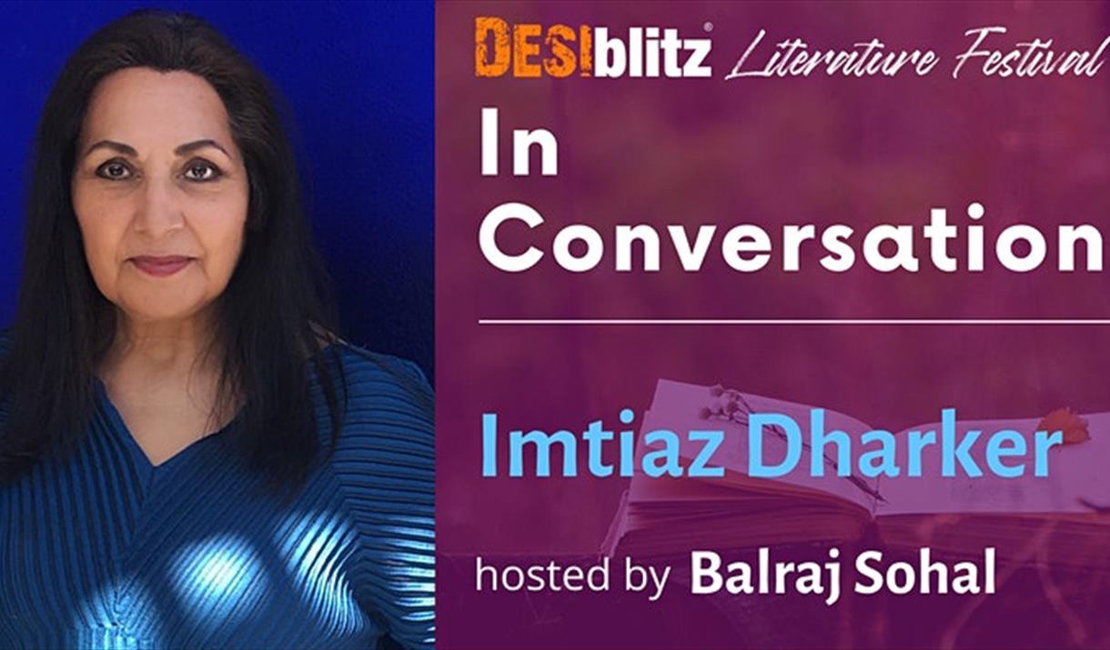 DESIblitz Literature Festival - In Conversation with Imtiaz Dharker