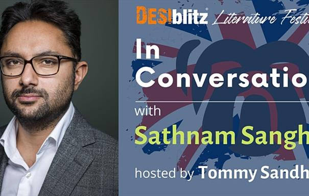 DESIblitz Literature Festival - In Conversation with Sathnam Sanghera