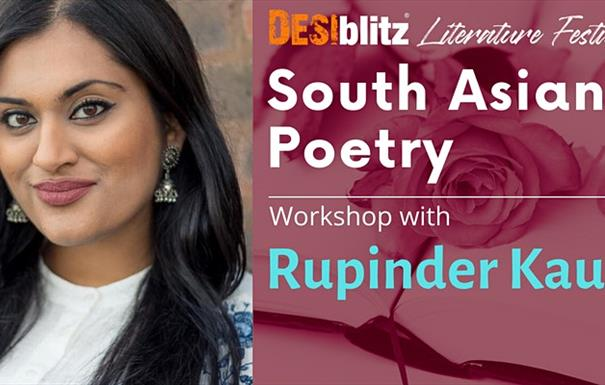 DESIblitz Literature Festival - South Asian Poetry with Rupinder Kaur