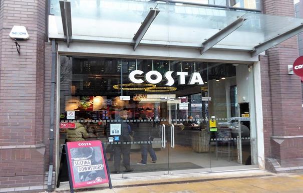 Costa - Colmore Row