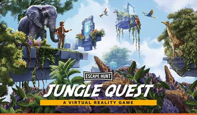 HEAD TO THE JUNGLE THIS SUMMER WITH A VR ESCAPE HUNT EXPERIENCE