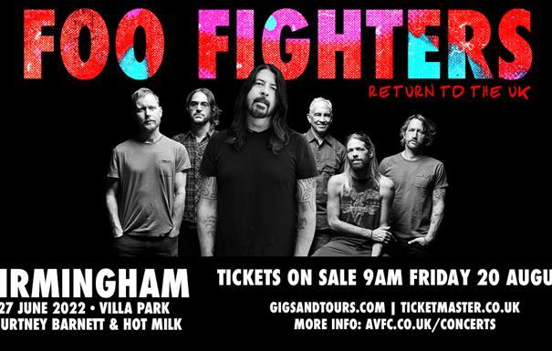 Foo Fighters at Villa Park