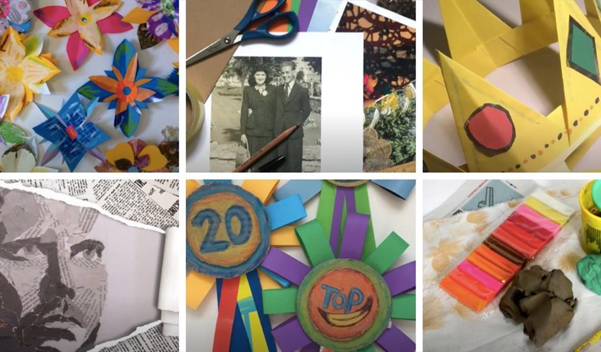 The New Art Gallery Walsall Children's Online Workshops