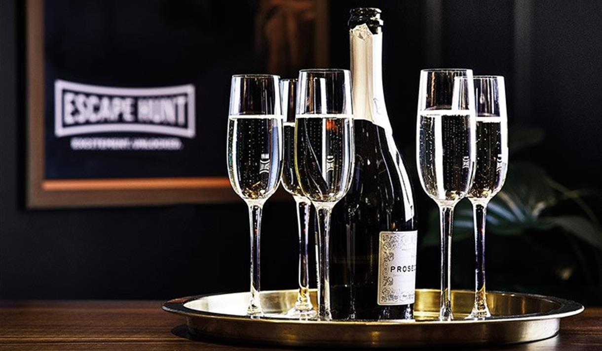 Escape with Bubbles at Escape Hunt this May
