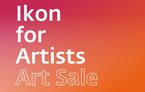 Ikon for Artists: Art Sale
