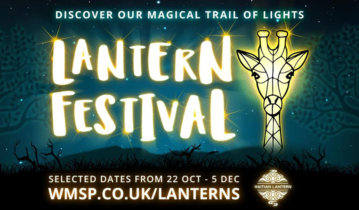 Lantern Festival at West Midland Safari Park