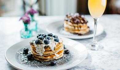 The Lost & Found brunch & bubbles pancakes