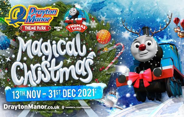 Magical Christmas at Drayton Manor Park