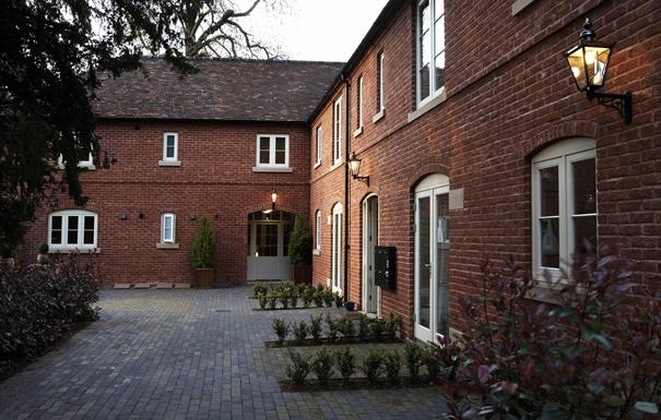 Netherstone House Mews - entrance