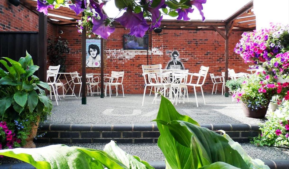 Red Lion beer garden