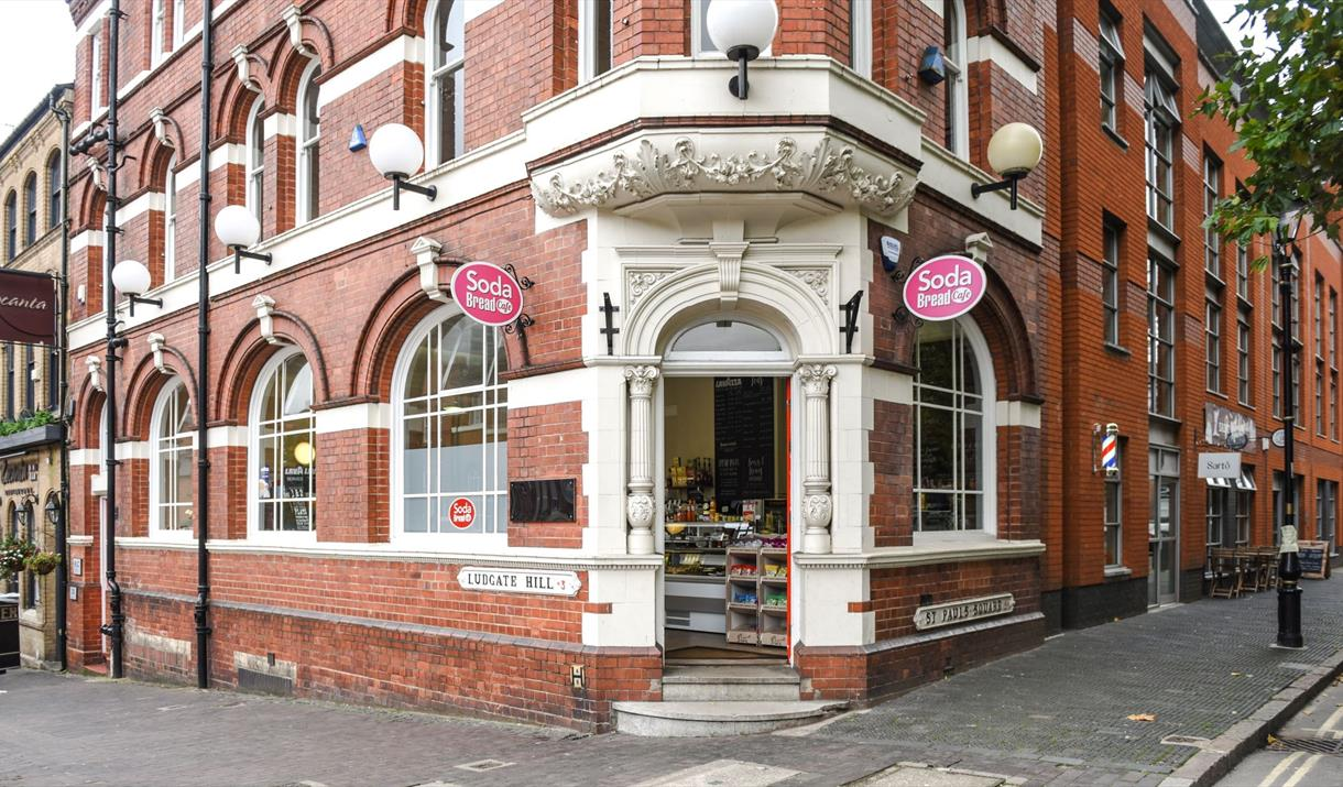 Soda Bread Cafe Jewellery Quarter