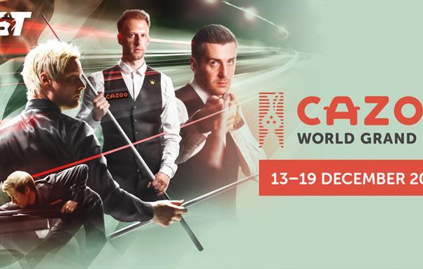 Cazoo World Grand Prix - Snooker
