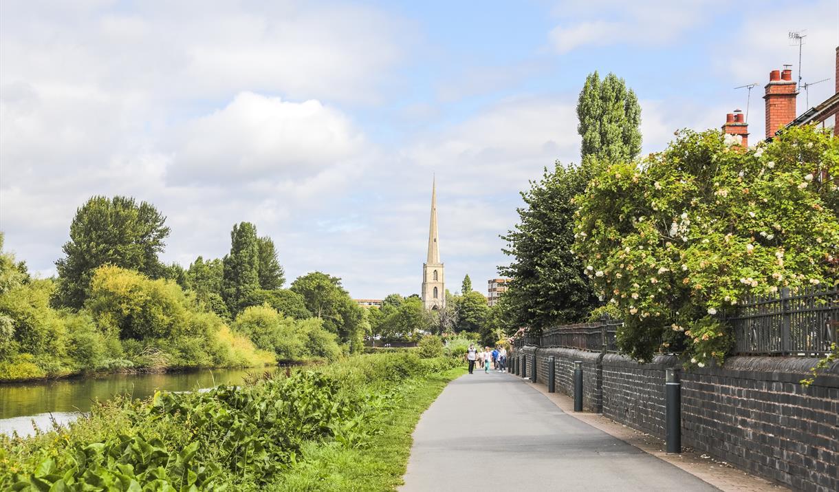 Battle of Worcester City Centre Trail