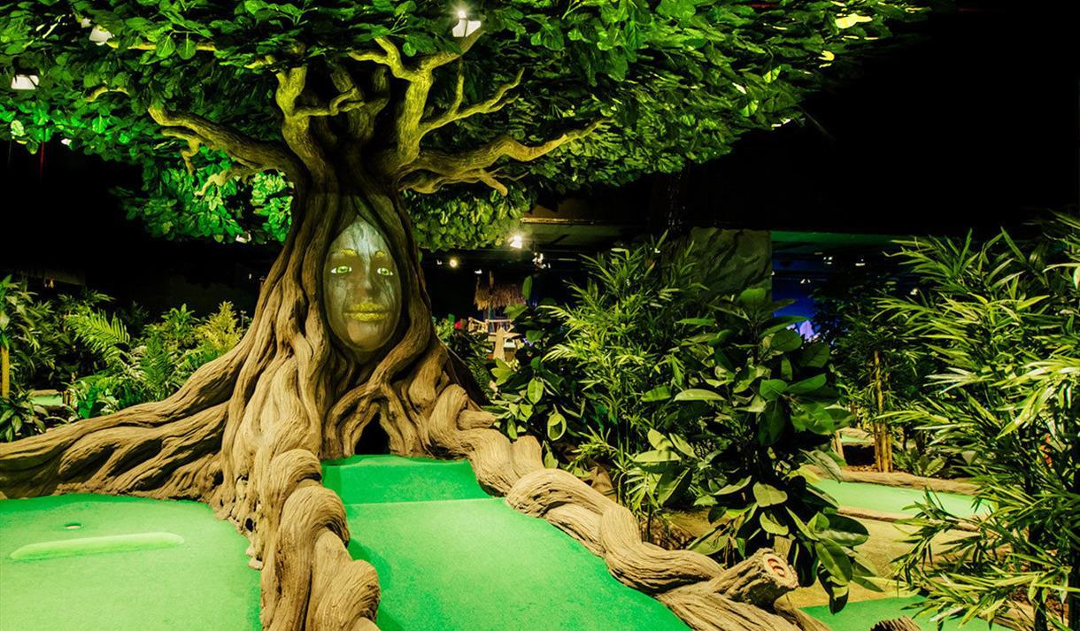 Tree top golf