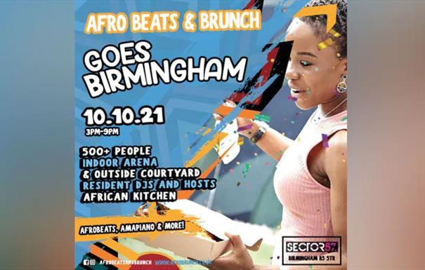 Afrobeats n Brunch – Sun 10th Oct BIRMINGHAM UK TOUR