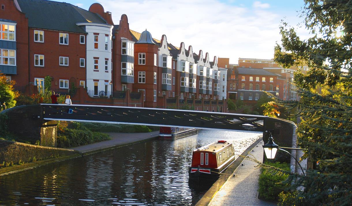 Birmingham City virtual canal walk