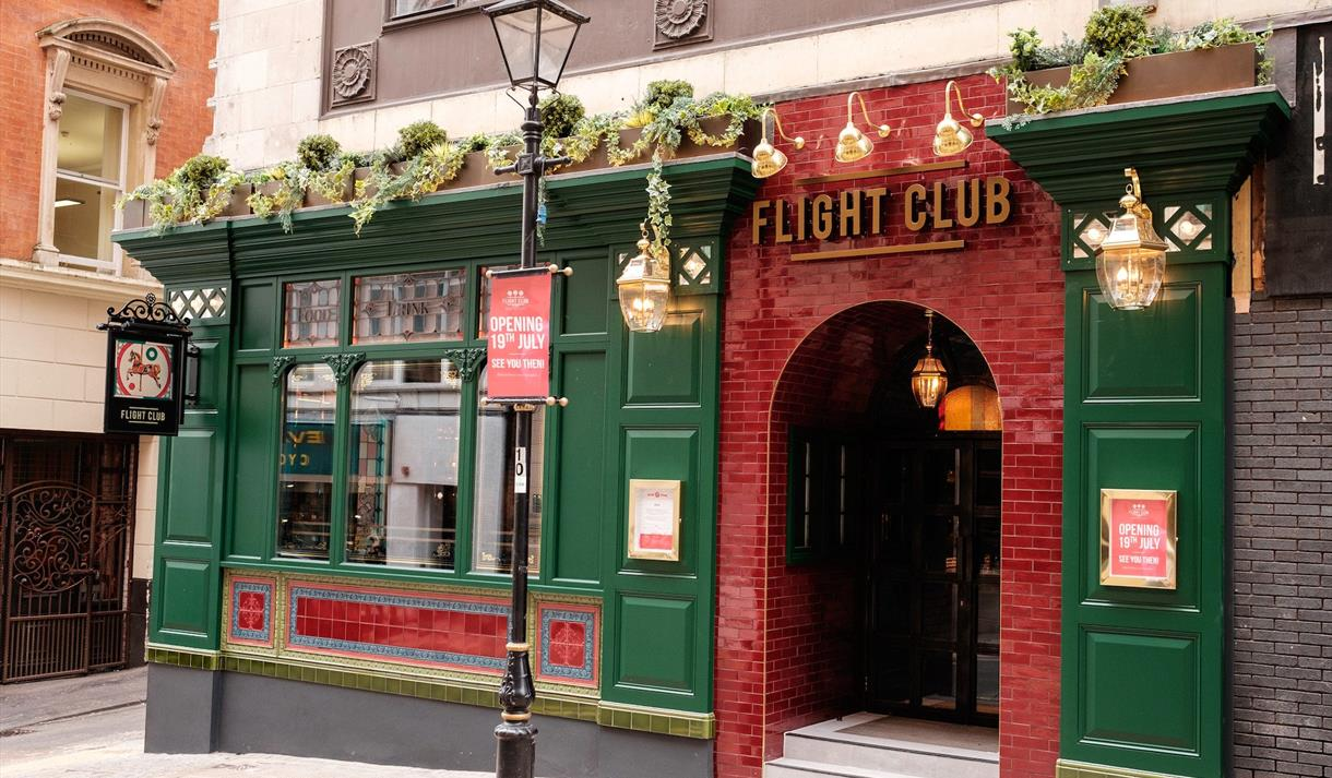 Flight Club Birmingham Exterior