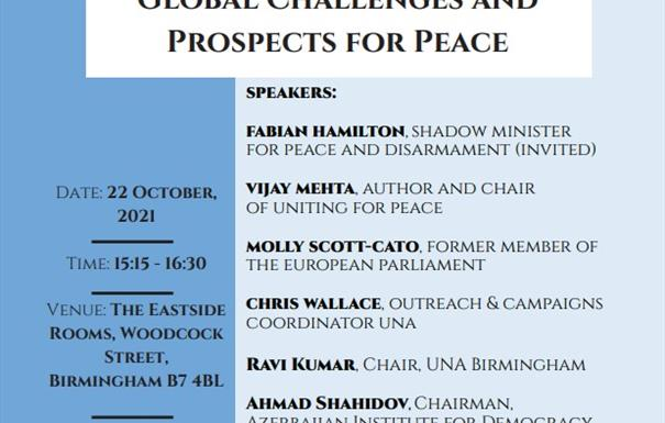 United Nations: 21st Century Global Challenges and Prospects for Peace
