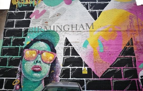 Graffiti Art of Digbeth Walk