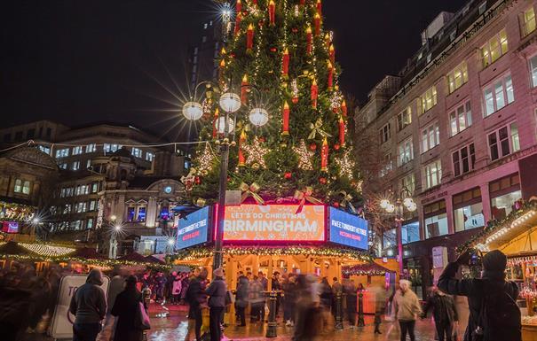 Birmingham Frankfurt Christmas Market