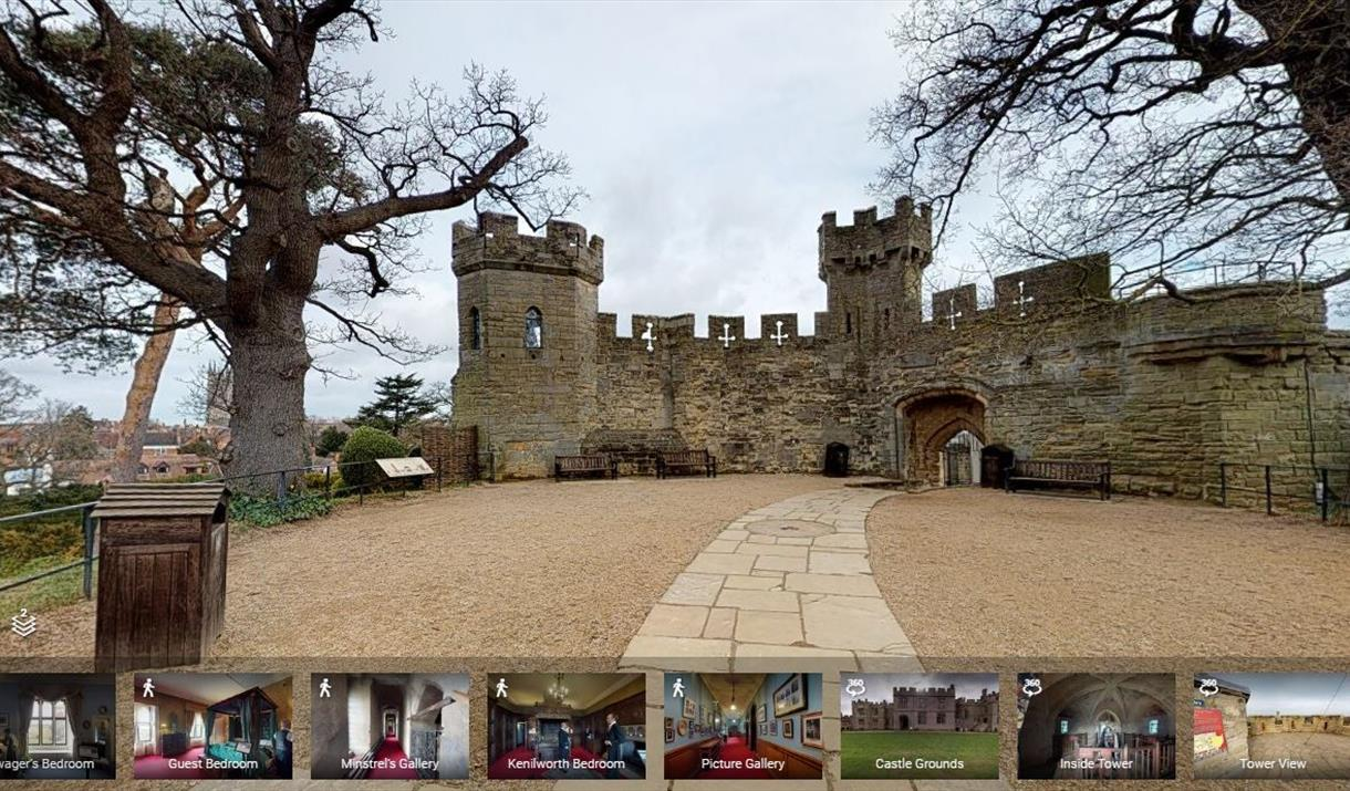 Warwick Castle free online resources