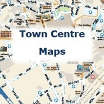 Blackburn & Darwen Town Centre Maps