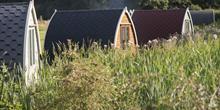 Pods at Stanley Villa Farm Fishing & Camping
