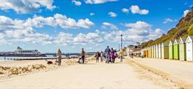 A sunny day on the beach|