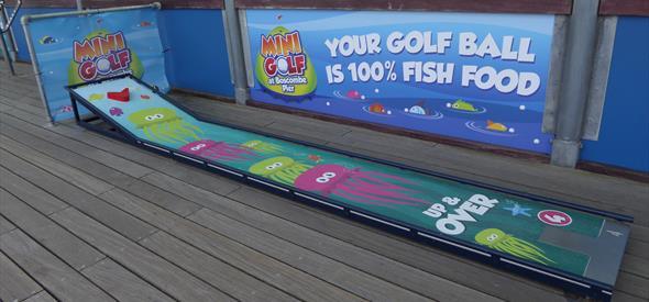 Mini Golf at Boscombe Pier