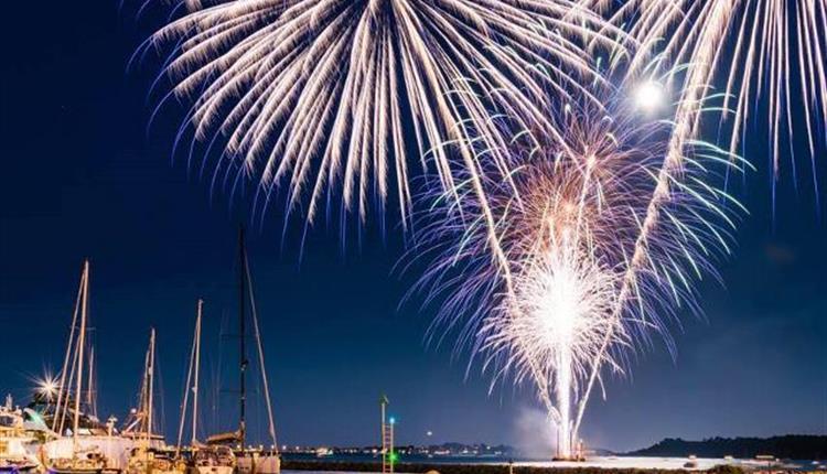 Free Fireworks on Poole Quay