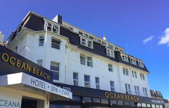 Ocean Beach Hotel Exterior