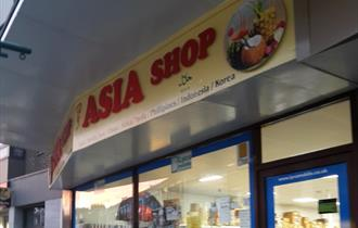 Asia Shop storefront