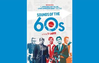 Flyer for The Zoots - Sounds Of The Sixties