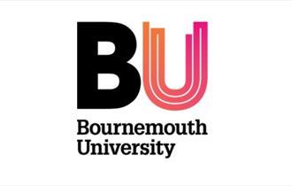 Bournemouth University BU logo orange and pink