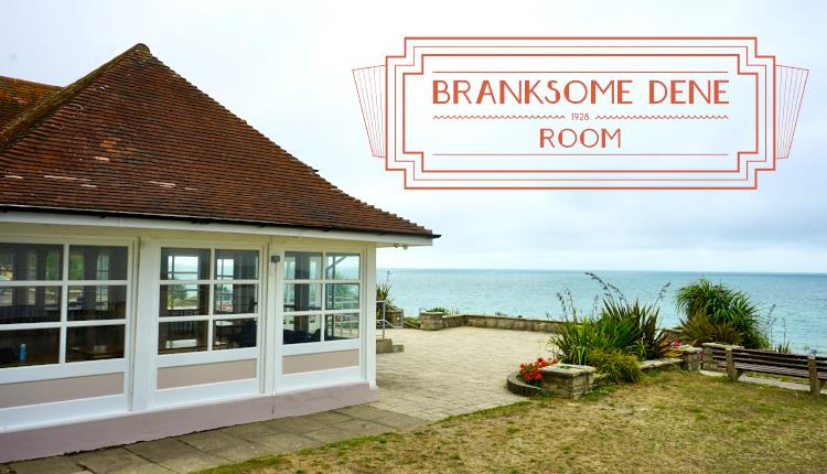 Branksome Dene Room outside shot with the Coral logo in the top right hand corner