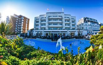 Cumberland Hotel Bournemouth External Art Deco