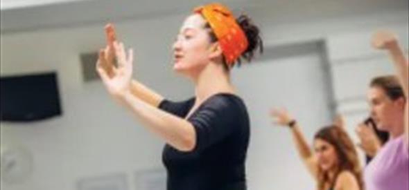 Teacher in Dance the musicals class