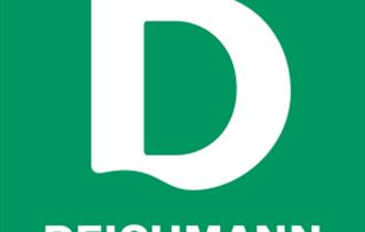 The logo for Deichmann