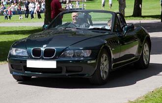 BMW driving into Simply BMW at Beaulieu