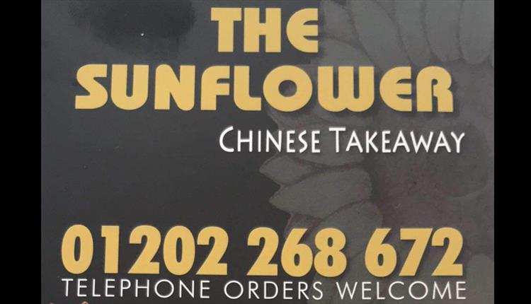 Sunflower Chinese takeaway.