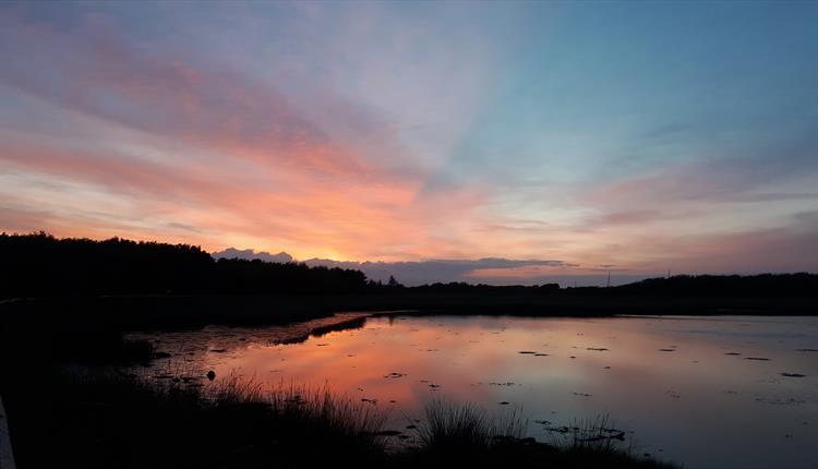 Hengistbury Head sunset