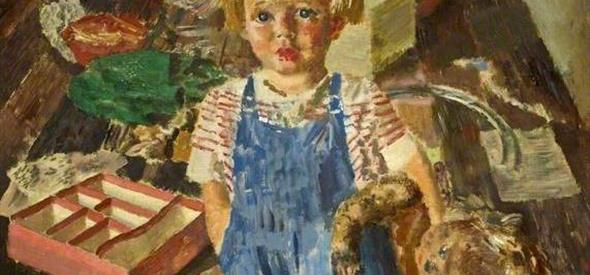 A painting named 'My Daughter Mary' by Alfred Reginald Thomson