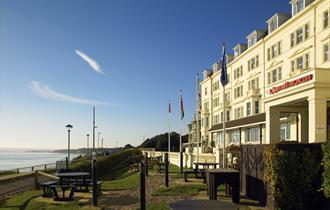 Bournemouth Hotel Main Entrance
